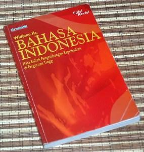 Widjono Hs.: Bahasa Indonesia, Mata Kuliah Pengembangan Kepribadian di Perguruan Tinggi