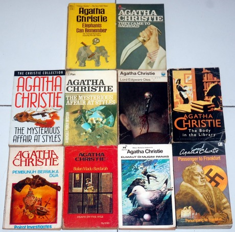 NOVEL AGATHA CHRTSTIE