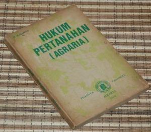 B3-2013-01-18-HUKUM-R. Susanto-Hukum Pertanahan (Agraria)