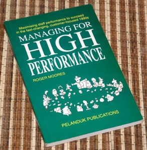 Roger Moores: Managing for High Performance