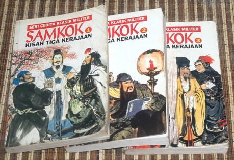 Samkok Kisah Tiga Kerajaan, Jilid I-III