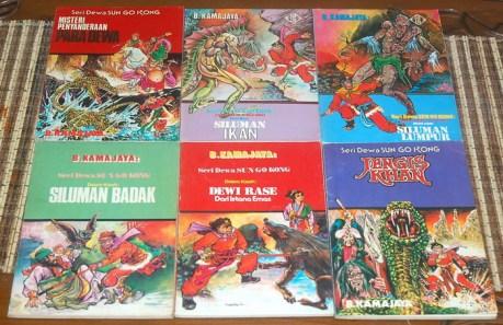 B. Kamajaya: Seri Dewa Sun Go Kong