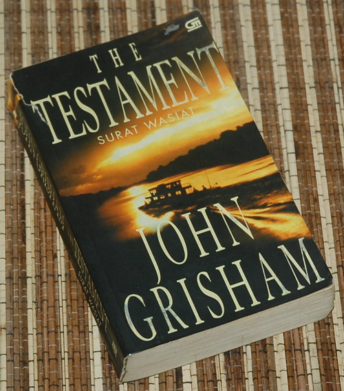 an analysis of the novel the testament by john grisham