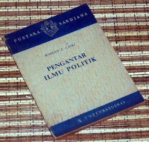 Harold J. Laski: Pengantar Ilmu Politik