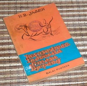 H.B. Jassin: Kesusasteraan Indonesia dimasa Djepang, Cetakan 3