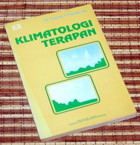 Bayong Tjasyono: Klimatologi Terapan
