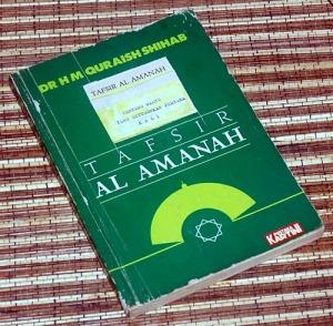 Quraish Shihab: Tafsir Al Amanah