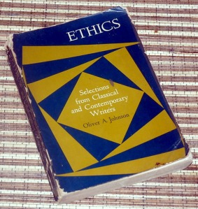 Oliver A. Johnson: Ethics