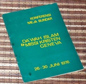 H.M. Rasjidi: Konferensi Meja Bundar Dakwah Islam & Misi Kristen Geneva