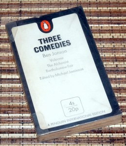 Ben Jonson: Three Comedies