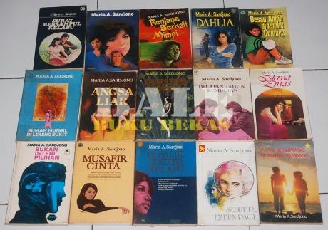 Novel-Novel Maria A. Sardjono