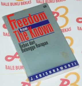 J. Krishnamurti: Bebas dari Belenggu Harapan