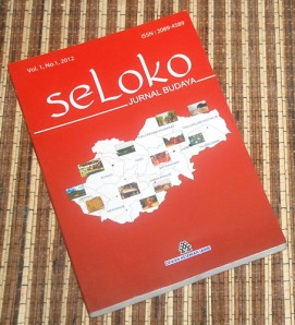 Jurnal Budaya Seloka Vol. 1 No. 1 2012