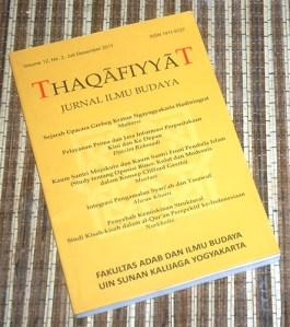 Jurnal Ilmu Budaya Thaqafiyyat Volume 12 No. 2 2011