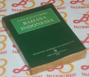 Tata Bahasa Baku Bahasa Indonesia, Cetakan II