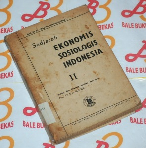 D.H. Burger: Sedjarah Ekonomis Sosiologis Indonesia II