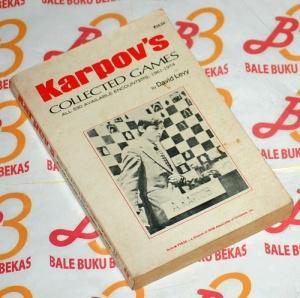 David Levy: Karpov's Collected Games