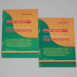 Ismul Jalala: Cepat Pintar Bahasa Inggris: Prepositions