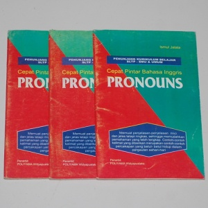 Ismul Jalala: Cepat Pintar Bahasa Inggris: Pronouns