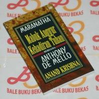 Anand Krishna-Maranatha Bersama Anthony de Mello