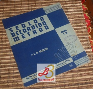 J.H. Sedlon: Sedlon Accordion Method, Book 1B