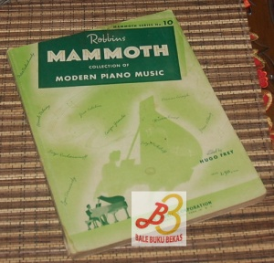 Mammoth Series No. 10: Collection of Modern Piano Music