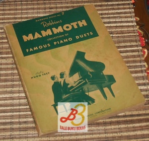 Mammoth Series No. 7: Collection of Famous Piano Duets