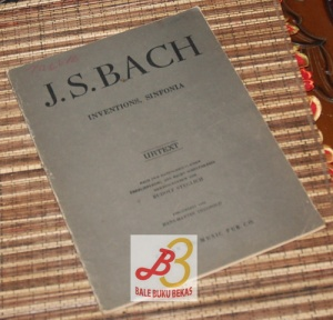 J.S. Bach: Inventions, Sinfonia