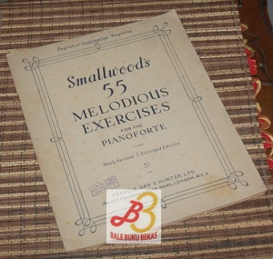 Smallwood's 55 Melodious Exercises for the Piano Forte: Newly Revised & Enlarged Edition 3/-