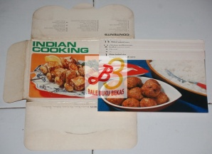 Indian Cooking, East and West Cookery Cards