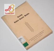 Katalog Koleksi Naskah Maluku
