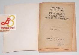Pukulan Terakhir Miss Marple