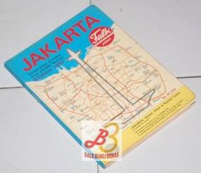 Jakarta Street Atlas & Names Index—Peta Jalan dan Indeks, 9th Edition