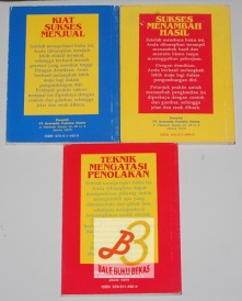 Tiga Buku Pengembangan Diri