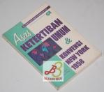 Asas Ketertiban Umum & Konvensi New York 1958