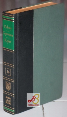 Great Books of the Western World 16: Ptolemy, Copernicus, Kepler
